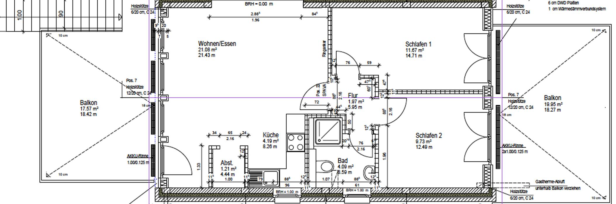 3 raum appartement im dachgeschoss boardinghouse b sum. Black Bedroom Furniture Sets. Home Design Ideas